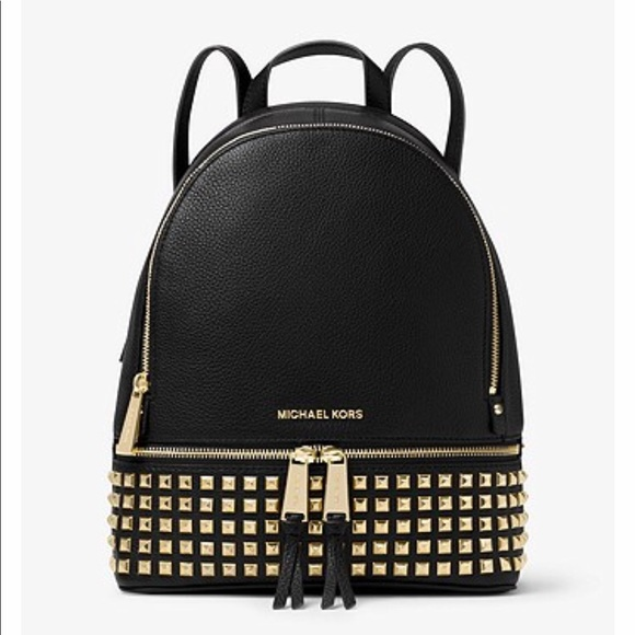 b88759abbe Rhea Medium Studded Leather Backpack. M 5b6e385dc2e88e741b162678